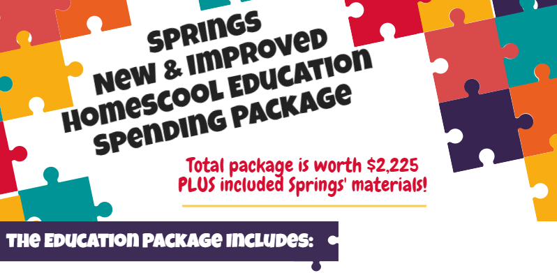 EDUCATION SPENDING PACKAGE Announcement_Page_1_Image_0001