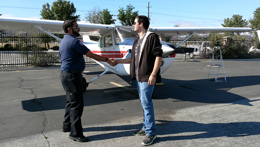 FAPA Solo Flight