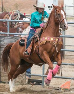 Gracie Beth and Bing Roping
