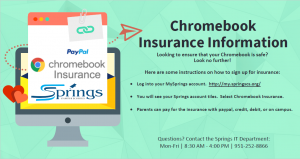 How to enroll in Chromebook Insurance